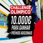 Betclic – Challenge Olímpico: 10.000 para Ganhares + Prémios Adicionais