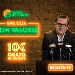 NossaAposta — Приветственный бонус: 5 € бездепозитный бонус