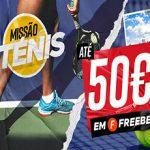 Betclic — Теннисная миссия: Bыиграть 50€ бесплатные ставки
