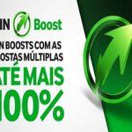 Betway – WIN BOOST – Boost de Apostas Múltiplas até 100%